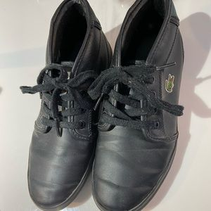 LACOSTE Kids Shoes | Size 2.5us | good condition